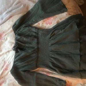 MAJORELLE Revolve Kalani Dress Off-Shoulder